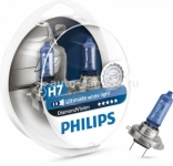 Галогенные лампы Philips H7 12v 55w Diamond Vision 12972DVS2 2 шт.